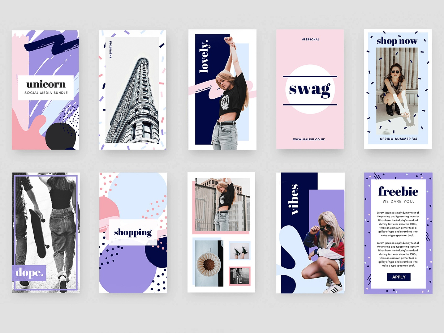 "9""IDEAS - Unicorn Bundle 2019 trending graphics 2019 trend trending graphics trends trending graphics design graphics unicorn social media bundle instagram templates social media templates instagram bundle instagram pack instagram design instagram social media branding social media deisgn social media bundle social media pack social media"