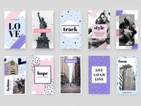 Malisu - Unicorn Social Media Pack