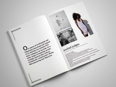 Brand & Design Agency - Brochure trending graphics style minimal magazine lookbook graphics graphic design fashion graphics fashion brochure fashion brand fashion book fashion editorial brochure design brand and identity branding branded content book bold