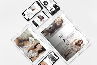Gilda&Pearl - Web Design