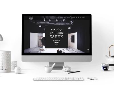 Fashion Week Klaipeda - Web Design