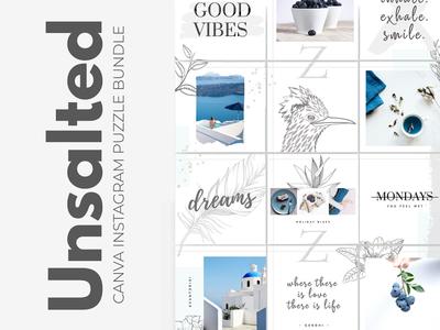 "9""IDEAS - Unsalted Instagram Puzzle"