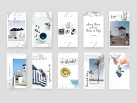 """9""""IDEAS - Unsalted Instagram Puzzle Pack"""