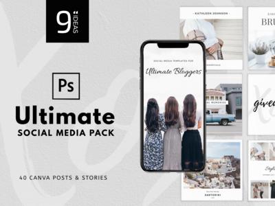 "9""IDEAS - Ultimate Social Media Pack"