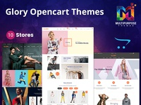 Glory - Opencart 3 Multi-Purpose Responsive Theme