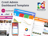 CrmX Admin - Bootstrap Admin Dashboard Template