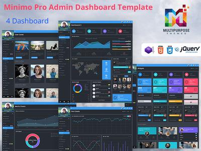 Admin Dashboard WebApp Template