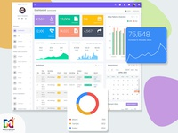 Lion Admin Dashboard Template
