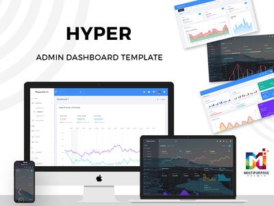 Hyper - Responsive Admin Dashboard Template
