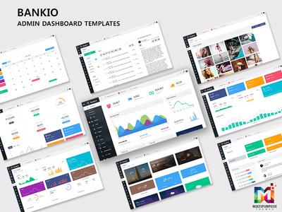 Bankio Admin Dashboard Templates