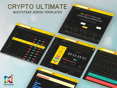 Crypto Ultimate Bootstrap Admin Templates