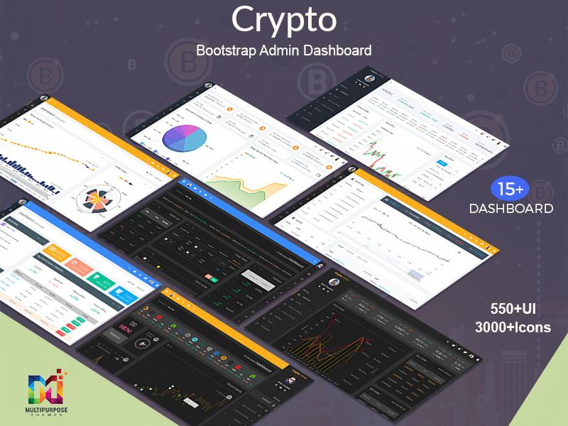 Crypto Bootstrap Admin Dashboard Template crypto dashboard crypto cards bootstrap dashboard bootstrap admin theme bootstrap admin template bootstrap admin bootstrap 4 bootstrap bitcoin admin theme admin template admin dashboard