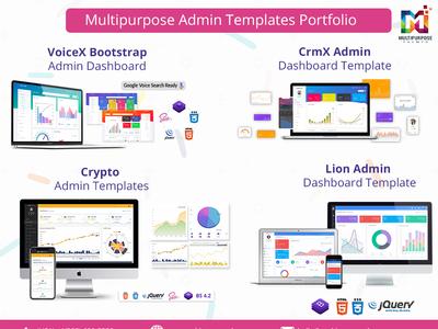Admin Template - Multipurpose Themes Portfolio