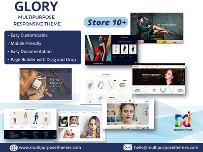 Glory Opencart MultiPurpose Theme