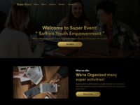 Superevent Website Design