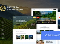 Ekoterra - NonProfit & Ecology WordPress Theme business wordpress themes webdesign web design wordpress wordpress theme