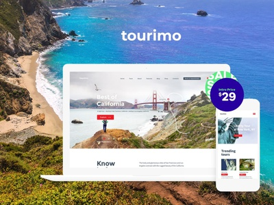 Tourimo - Tour Booking WordPress Theme blog e-commerce blogging business wordpress wordpress themes webdesign web design wordpress theme