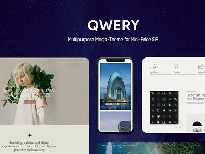 Qwery - Multi-Purpose Business WordPress Theme e-commerce blog business wordpress themes webdesign web design wordpress wordpress theme