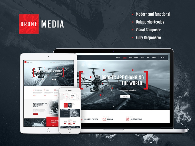 Image result for drone media theme