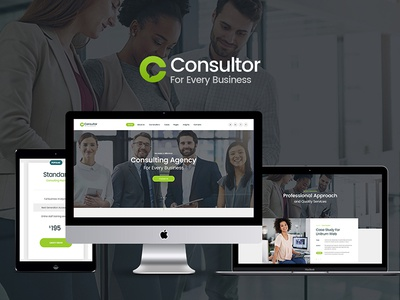 Consultor | Business Consulting WordPress Theme