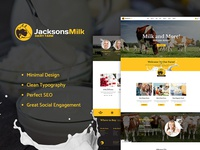 Dairy Farm & Eco Products HTML Template