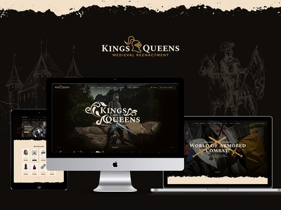 Kings & Queens | Medieval Reenactment WP Theme