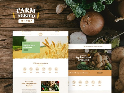 Farm Agrico | Agricultural Business WordPress Theme eco products eco e-commerce agrotourism agritourism agriculture wordpress wordpress theme organic food wordpress theme