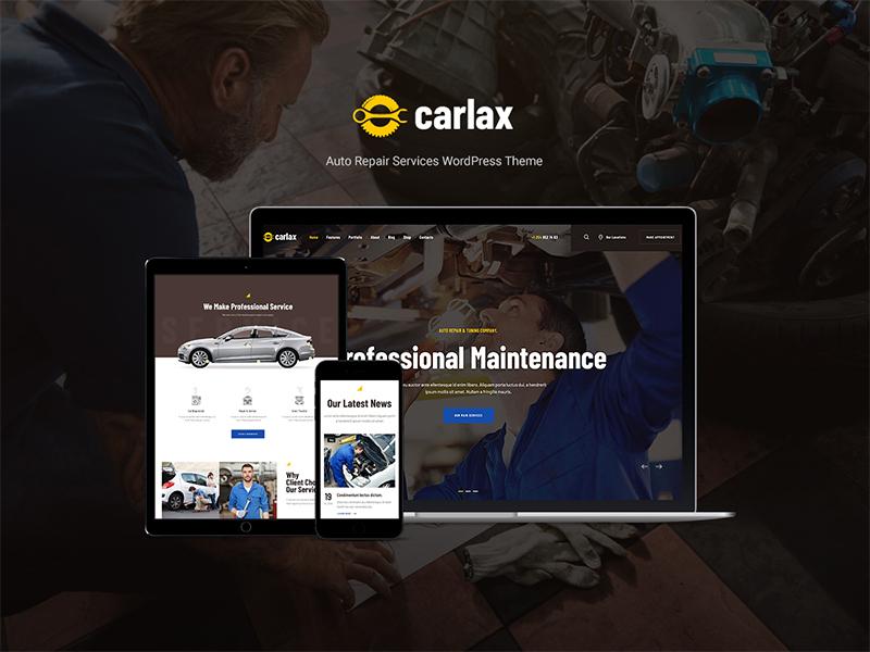 Carlax | Car Parts Store & Auto Service WordPress Theme woocommerce shop cars car wash car sale car repair car rental car parts car accessories automotive auto parts auto