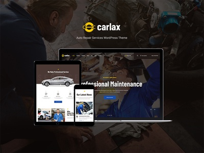 Carlax | Car Parts Store & Auto Service WordPress Theme woocommerce shop cars car wash car sale car repair car rental car parts car accessories automotive auto parts auto