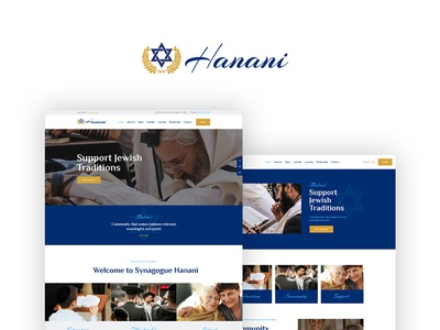 Hanani | Jewish Community & Synagogue WordPress Theme nonprofit jewish god donations community church charity wordpress blog wordpress theme jewish community wordpress theme synagogue wordpress theme