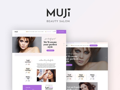 Muji - Beauty Shop and Spa Salon WordPress Theme spa wordpress theme beauty salon wordpress theme beauty shop wordpress theme beauty  wordpress theme spa salon wordpress theme