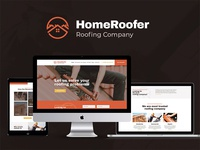 Roofing Company Services & Construction WordPress Theme