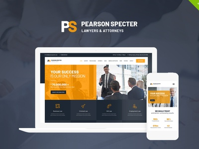 Pearson Specter | WordPress Theme for Lawyer & Attorney law business wordpress themes webdesign web design wordpress wordpress theme