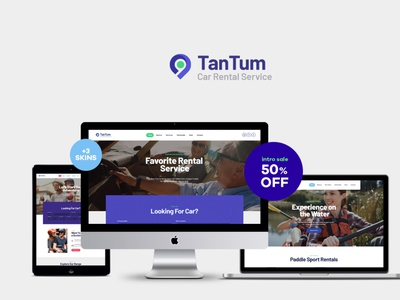 TanTum | Car & Scooter Rental Services WordPress Theme blog business wordpress themes webdesign web design wordpress wordpress theme