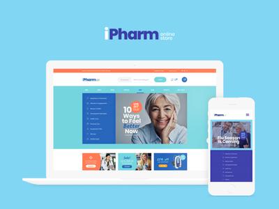 IPharm - Online Pharmacy & Medical WordPress Theme woocommerce webdesign web development web design wordpress themes wordpress wordpress theme