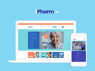 IPharm - Online Pharmacy & Medical WordPress Theme woocommerce webdesign web development web design wordpress themes wordpress wordpress theme