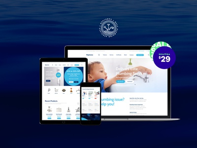 Neptunus - Water Park WordPress Theme woocommerce webdesign web development web design wordpress themes wordpress wordpress theme