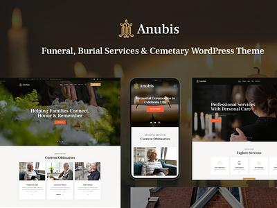 Anubis - Funeral & Burial Services WordPress Theme illustration design woocommerce webdesign web development web design wordpress themes wordpress wordpress theme