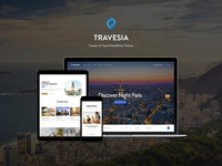 Travesia | Travel Agency WordPress Theme