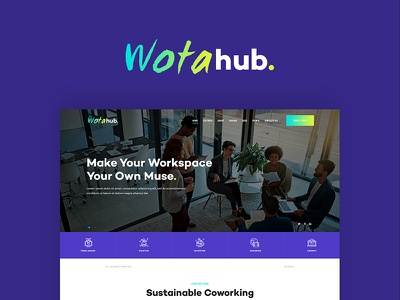 WotaHub | Coworking Space WordPress Theme creative coworking corporate conference business web development web developer webdesign web design wordpress wordpress theme coworking space wordpress theme