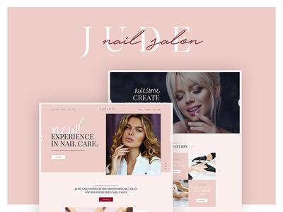 Jude   Nail Bar & Beauty Salon WordPress Theme