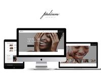 Podium | Model Agency WordPress Theme