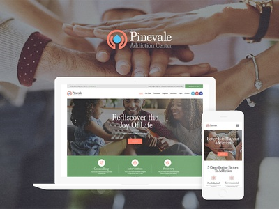 Pinevale   Addiction Recovery and Rehabilitation Center WP Theme