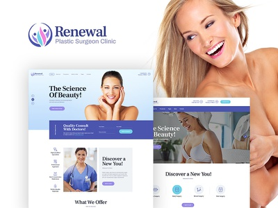 Renewal | Plastic Surgery Clinic Medical WordPress Theme wordpress wordpress theme medical wordpress theme