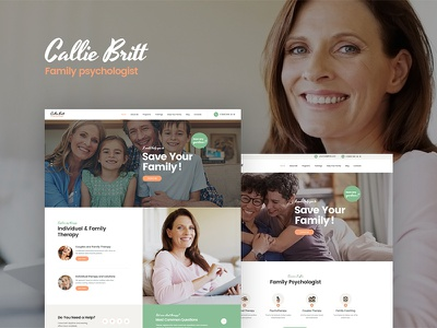 Callie Britt | Family Counselling Psychology WordPress Theme mental health treatment clinical family hypnotherapist psychology hospital psychiatrist psychotherapist wordpress plugin wordpress themes wordpress theme psychology wordpress theme family wordpress theme