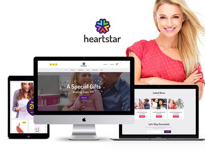 HeartStar | Gift Shop & Event WordPress Theme