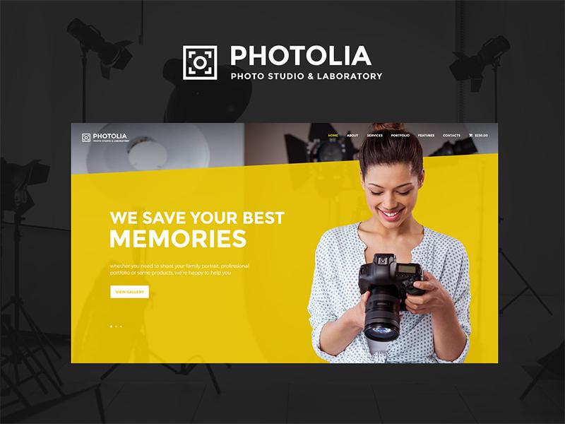Photolia | Photo Company & Photo Supply Store WordPress Theme wordpress themes wordpress theme photo company wordpress theme photo  wordpress theme