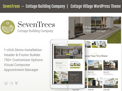 SevenTrees   Real Estate WordPress Theme single property sale rent realtor real estate property house home gdpr business booking appointments apartment agent agency