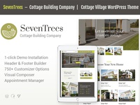 SevenTrees | Real Estate WordPress Theme