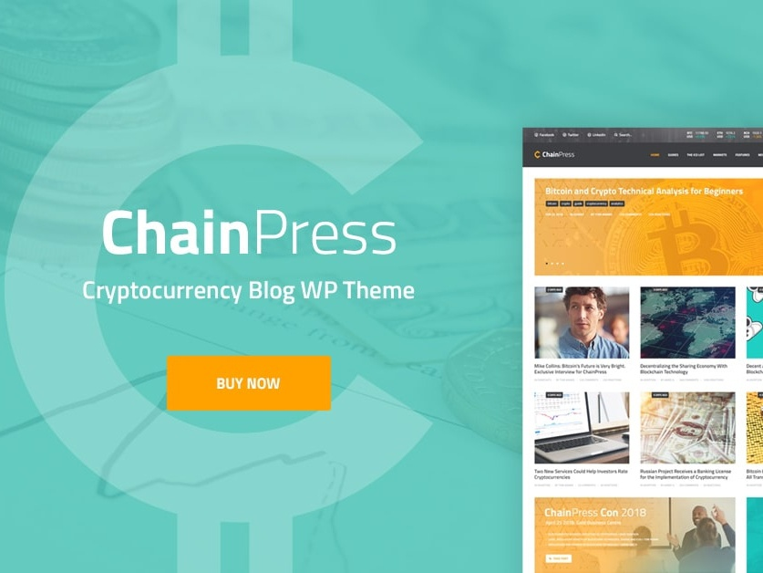 ChainPress | Financial WordPress Business Blog Theme wordpress blog web design web development wordpress theme wordpress wordpress themes woocommerce